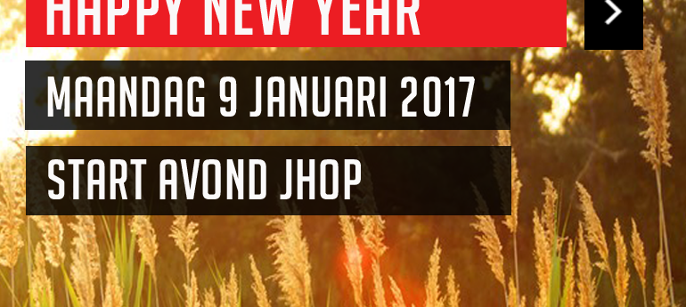 Nieuw seizoen JHOP 2017