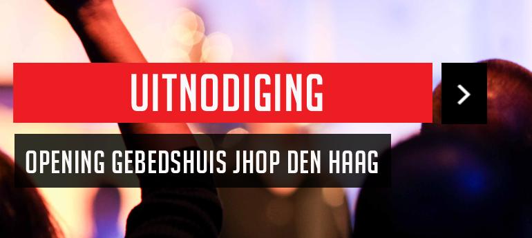 Opening gebedshuis JHOP op maandag 1 februari 2016